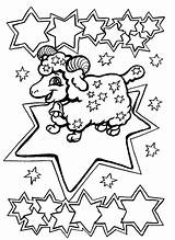 Coloring Zodiac Pages Signs Om Nom sketch template