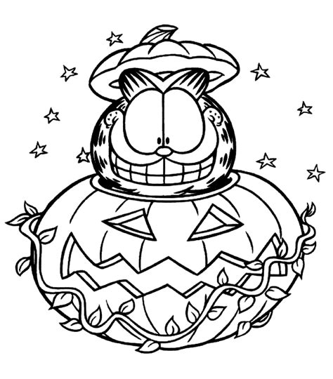 garfield coloring pages bestofcoloringcom