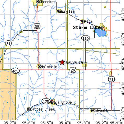 Galva, Iowa (IA) ~ population data, races, housing & economy