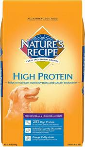 Nature's Recipe High Protein Chicken Meal & Lamb Meal