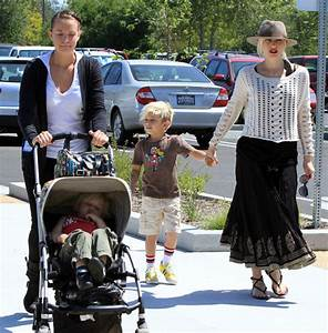 Kingston Rossdale Photos Photos - Gwen Stefani And Kids ...
