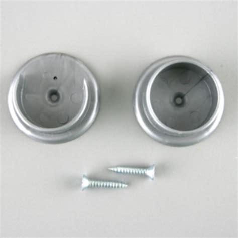 plastic closet pole sockets with platinum powder coated