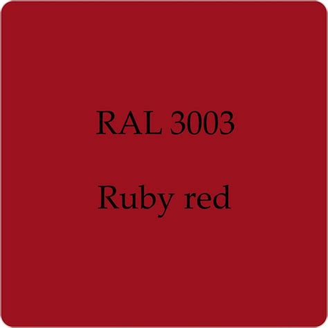ral 3003 cellulose car body paint ruby red 1l with free