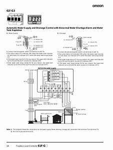 Wiring Diagram Water Level Control Omron