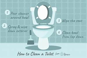 How To Properly Clean A Toilet