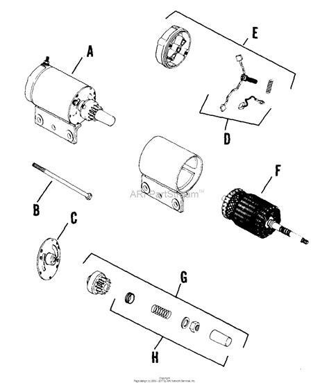 Bendix Starter Part Diagram by Kohler K241 46754 International Harvester 10 Hp 7 5 Kw