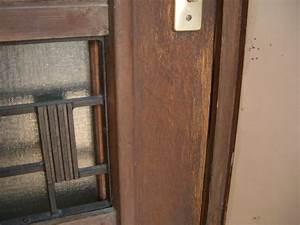 renover une porte d entree en bois evtod With reparer une porte d entree en bois