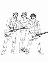 Coloring Rock Star Pages American Idol Site Coloring2print sketch template