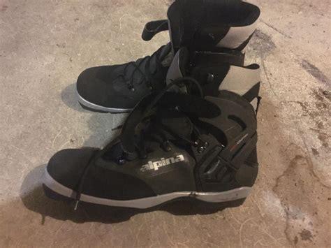 Alpina Footwear Bc 1550 Herr Svart