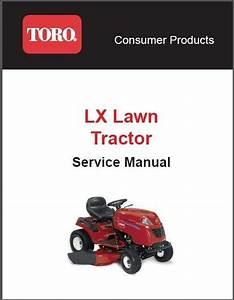 Toro Lx Series   Lx420 Lx425 Lx460 Lx465 Lx500   Lawn