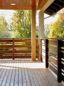 Modern Deck Railing Design Ideas