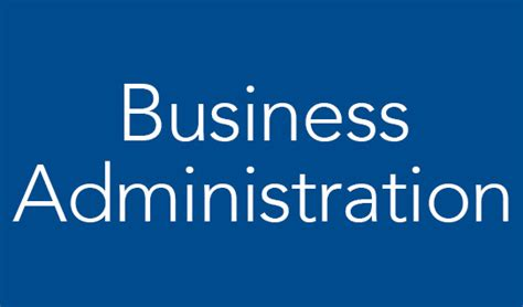 department  business administration  economics