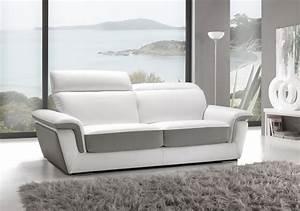 canapes contemporains fixes et composables de fabrication With canapé design contemporain