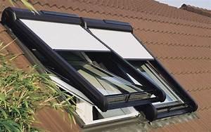 Fenetre De Toit Sur Mesure : volet fenetre de toit tout savoir sur le volet velux ~ Premium-room.com Idées de Décoration