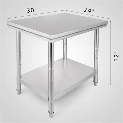 commercial stainless steel work bench kitchen catering