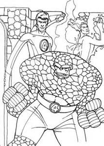 fantastic  human torch    coloring page supercoloringcom