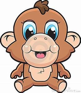 baby monkey cartoon – Item 4   Clipart Panda - Free ...