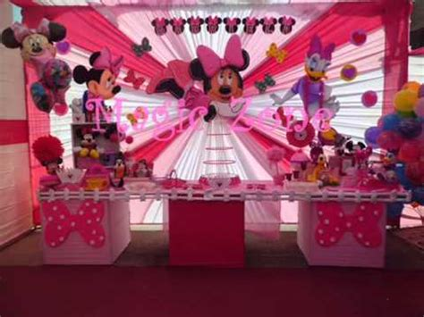 decoraciones de minnie fuccia