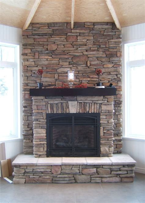cultured stone fireplaces  cultured stoners