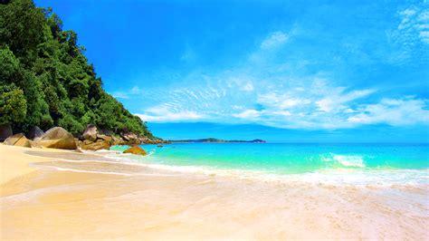 Beautiful Beach Wallpaper Wallpapersafari