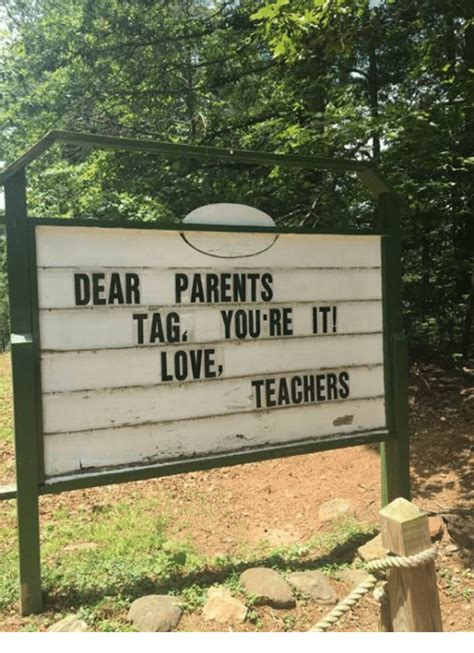 dear parents tag youre  love teachers love meme  meme