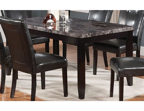 Marble Dining Table And Chairs by Tahoe Faux Marble Dining Table Tahoeg Tb The Brick