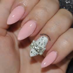 Pink almond nail designs todays design features
