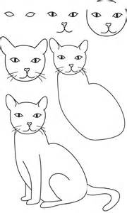 how to draw a cat step by step drawing cat