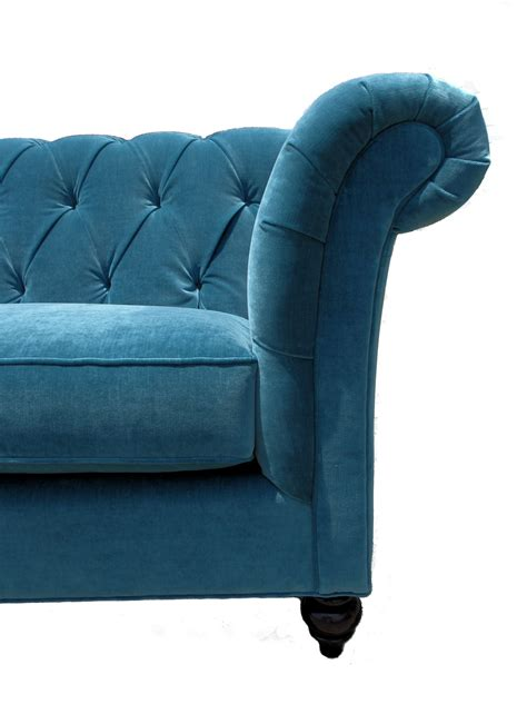 Peacock Blue Loveseat by Peacock Blue Tufted Sofa