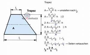 Trapez Berechnen Online : technische mathematik formeln umstellen 1 tec ~ Themetempest.com Abrechnung