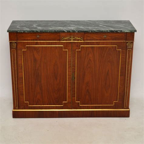 Sideboard With Marble Top by Antique Rosewood Marble Top Sideboard Cabinet Marylebone