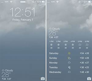 Forecast brings Live Weather Animated Wallpapers; 5