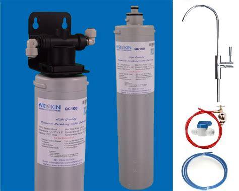 wrekin qc drinking water filters system chlorine