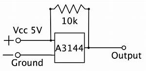 arduino detect multiple hall sensors on one input With hall effect sensor wiring