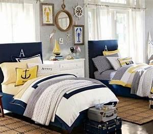 Decoration Chambre Style Marin : la chambre coucher style marin 38 exemples ~ Zukunftsfamilie.com Idées de Décoration