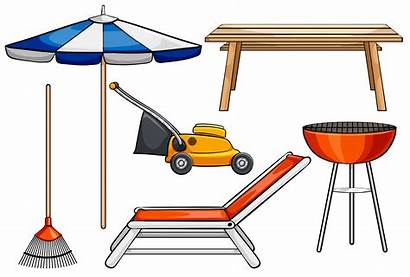 Objects Different Outdoor Vector Purposes Vectors Clipart