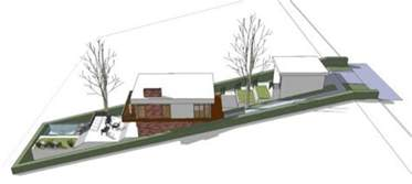 narrow lot house plans with basement a home built on a slope interior design inspiration