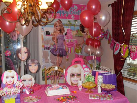 Barbie Party Decorations By Teresa