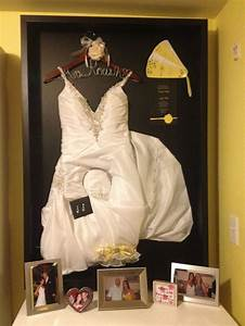 wedding dress shadow box house pinterest With shadow box for wedding dress