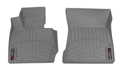 weathertech floor mats bmw x3 2017 bmw x4 weathertech front auto floor mats gray