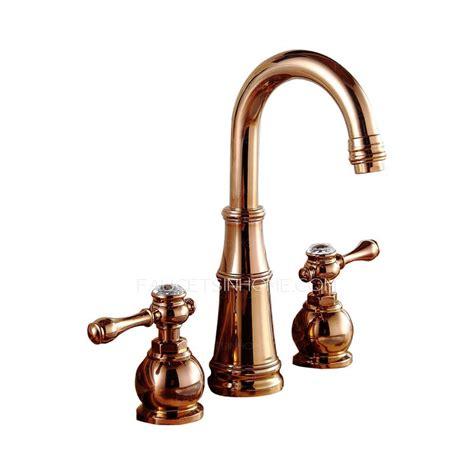 vintage sink faucets best gold three vintage bathroom sink faucets