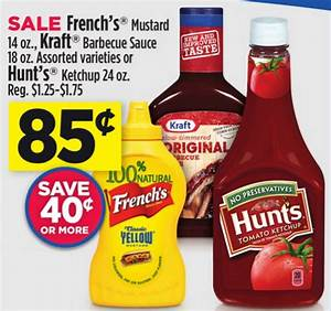 Time to Stock up on Condiments: French's Mustard, Kraft ...
