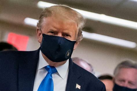 Trump says wearing mask 'patriotic' in tweet showing his
