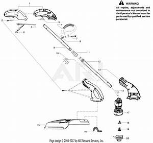 Poulan Rte112c Electric Trimmer Parts Diagram For Product