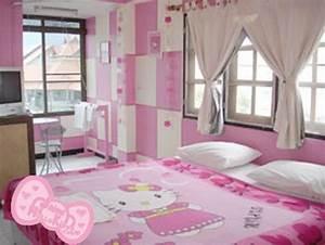 Chambre Hello Kitty : une chambre d 39 hotel th me hello kitty lire ~ Voncanada.com Idées de Décoration