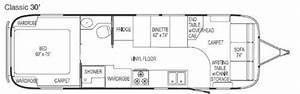 Airstream Floor Plans