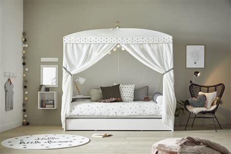 baldacchino per letto a baldacchino per bambini con letto estraibile dottie