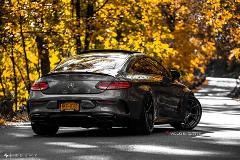 mercedes amg cs coupe  velos  pc forged wheels