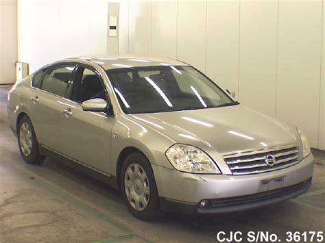 2003 Nissan Teana Silver For Sale Stock No 36175