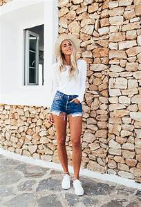 Distressed High-Waisted Shorts to Shop and Wear All Summer | StyleCaster